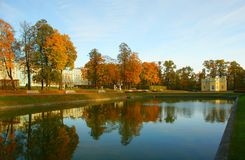 Autumn in Tsarskoye Selo Royalty Free Stock Photo