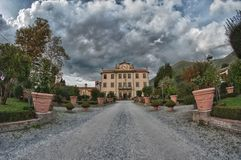 Autumn in Tuscan Countryside. Italy Stock Photography