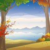 Autumn twilight Stock Photography