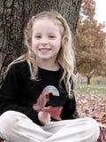 autumn uśmiech Zdjęcie Royalty Free