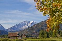 Autumn in Upper Bavarian landscape Royalty Free Stock Photos