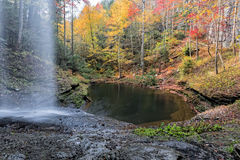 Autumn At Upper Piney Falls Stock Photography