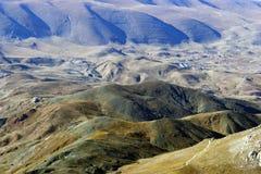 Autumn Valley. Valley in the mountains of Turkey in the autumn Stock Photos