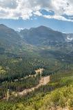 Autumn Valley Stock Photography