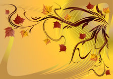 Autumn. vector  Stock Image