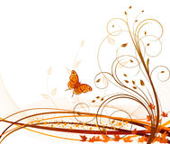 Autumn vector abstract background Royalty Free Stock Photo