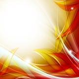 Autumn vector backdrop. Eps10. Bright abstract autumn vector backdrop. Eps10 Stock Illustration