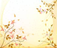 Autumn vector background Royalty Free Stock Images