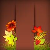Autumn Vector Fall Leaves Images libres de droits