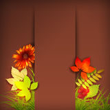Autumn Vector Fall Leaves Royalty Free Stock Images