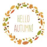 Autumn Vector illustration Arkivbild