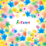 Autumn vector illustration Stock Photography