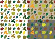 Autumn Vector Pattern Royalty-vrije Illustratie