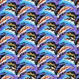 Autumn Vector Pattern Images libres de droits