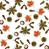 Autumn Vector Pattern Image stock
