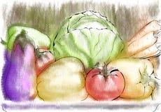 Autumn Vegetables Images libres de droits