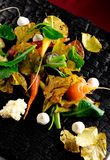 Autumn vegetables/fine dining Stock Photos