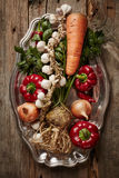 Autumn vegetables Stock Photography