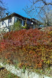 Autumn view of Architectural and historical reserve of village of Bozhentsi, Bulgaria Stock Photo