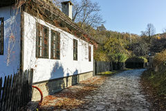 Autumn view of Architectural and historical reserve of village of Bozhentsi, Bulgaria Royalty Free Stock Photography