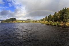 An Autumn view arcross Lake Vyrnwy Royalty Free Stock Image