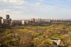 Autumn view of Central Park, Manhattan, New York Royalty Free Stock Images