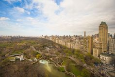 Autumn view of Central Park, Manhattan, New York Stock Photography