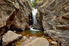 Autumn View of Chasm Falls - Horizontal Stock Images