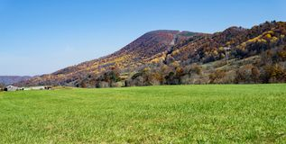 Autumn View de la montagne de Catawba - 3 photographie stock libre de droits