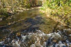Autumn View de Wilson Creek imagens de stock