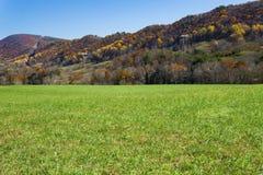 Autumn View della montagna di Catawba - 2 fotografia stock
