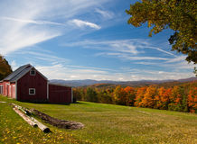 Autumn View In Vermont Stock Images