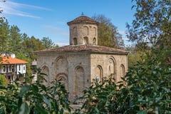 Autumn view of medieval  Zemen Monastery, Bulgaria Stock Photo