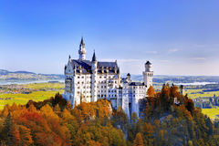 Neuschwanstein castle - Germany Stock Image