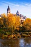 Autumn view of Salamanca Royalty Free Stock Photo