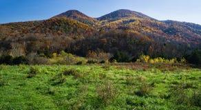 Autumn View of Tinker Mountain - 2. Autumn view of Tinker Mountain located in Botetourt County, Virginia, USA Stock Image