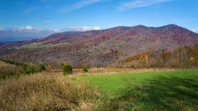 Autumn View of Tinker Mountain. Located in Botetourt County, Virginia, USA Royalty Free Stock Photos