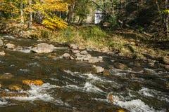 Autumn View van Wilson Creek Stock Fotografie