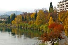 Autumn in Villach Stock Photography