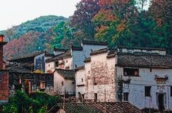 Autumn village Stock Image