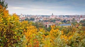 Autumn in Vilnius Royalty Free Stock Photo