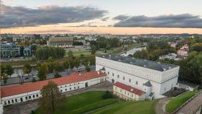 Autumn in Vilnius, Lithuania Stock Photo