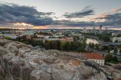 Autumn in Vilnius, Lithuania Stock Image