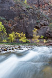 Autumn on the virgin river Royalty Free Stock Photo