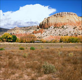 Autumn Vista On The Ghost Ranch - New Mexico Stock Photography