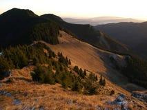 Autumn in Vrancea Mountains. Wonderful sunrise in the Vrancea mountains in autumn Stock Images