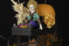 Autumn Wagon Royalty Free Stock Photos
