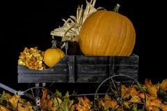 Autumn Wagon Royalty Free Stock Photo
