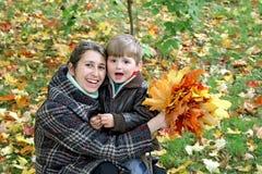 Autumn walk. Royalty Free Stock Photo