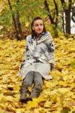 Autumn walk Stock Photos